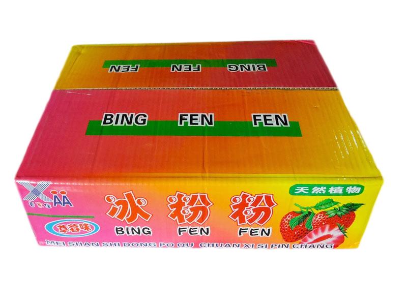 喜佳佳冰粉粉(草莓味外箱)