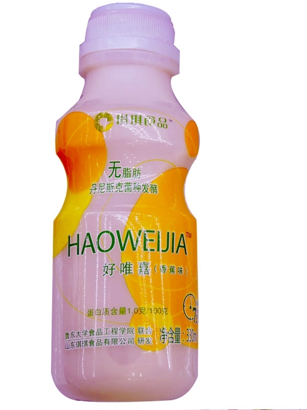 好唯嘉乳酸菌330ml(香蕉味)