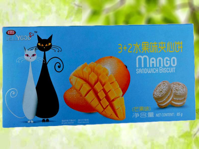 3+2水果夹心饼(芒果味)