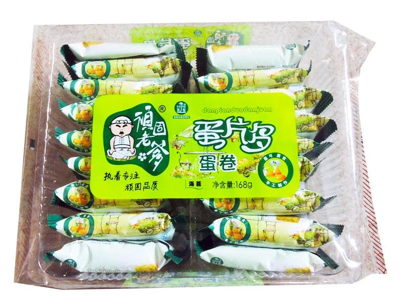 凯悦蛋片多168克(海苔味)