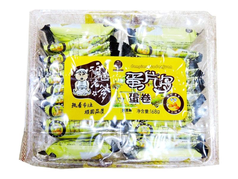 凯悦蛋片多168克(芝麻)