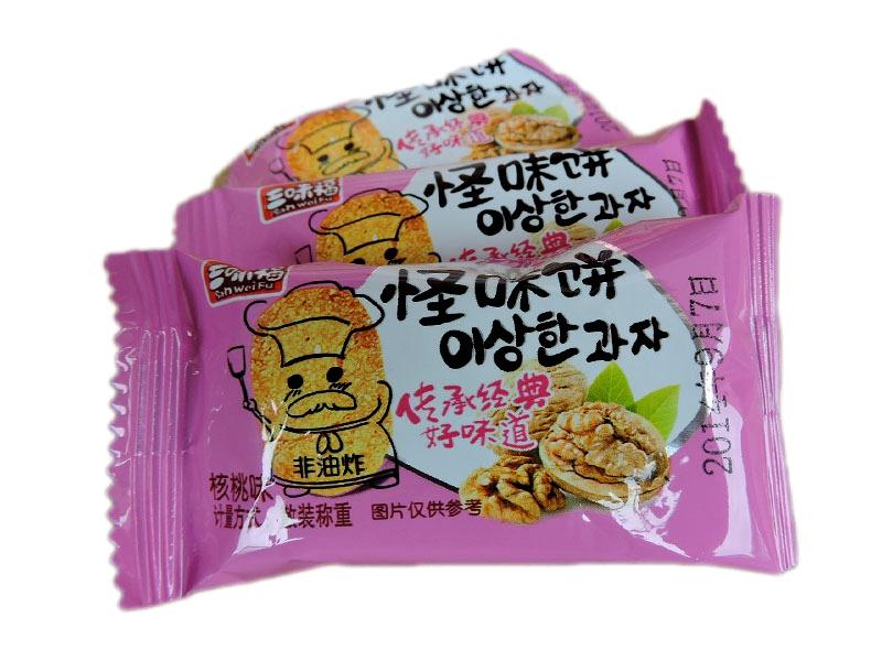 三味福怪味饼(核桃味,香辣味)