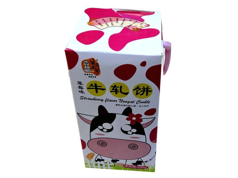 顽固老爹牛轧饼200克(草莓味)