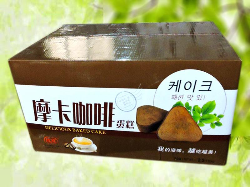 欣欣摩卡咖啡蛋糕(外箱)
