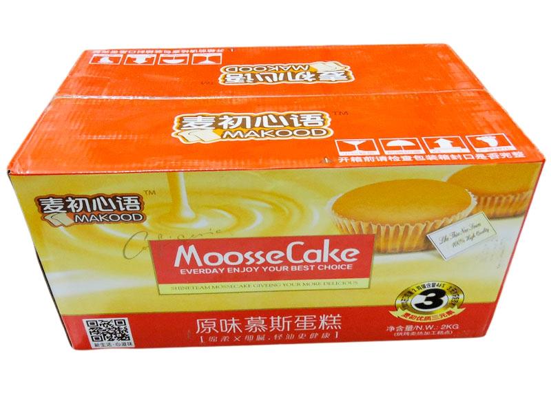 慕斯蛋糕 原味  外箱