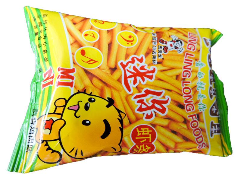 灵灵龙迷你虾条(葱香鸡肉味)