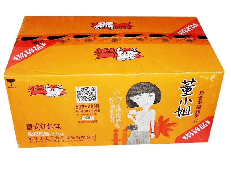 小王子薯片(红烩味)箱装