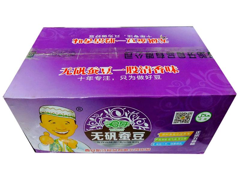 哈牙无矾蚕豆(五香味)外箱