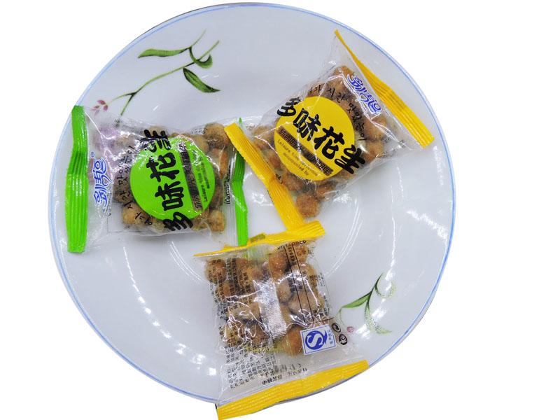 多情豆多味花生(透明装(香辣 蟹黄 五香 海苔 )