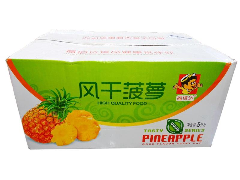 福佰达  风干菠萝片 箱