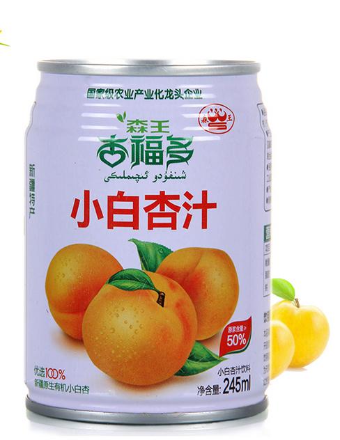 森王小白杏汁245ml