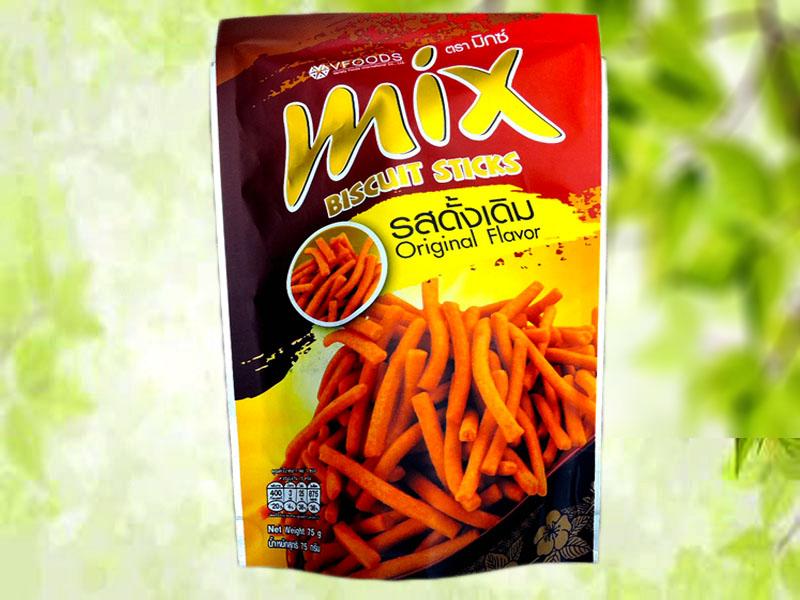 Mix脆脆条75g(香辣味  原味)