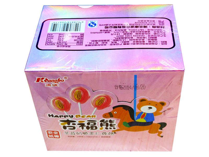 杏福熊24支棒糖(草莓牛奶)