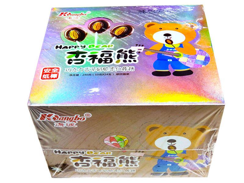 杏福熊24支棒糖(巧克力香草)
