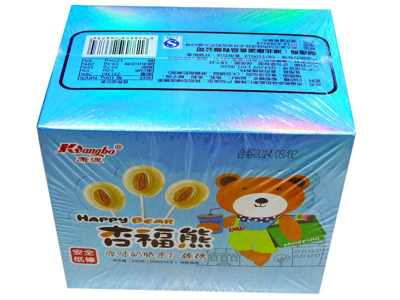 杏福熊24支棒糖(原味奶)
