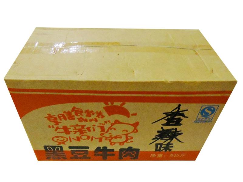光正黑豆牛肉(香辣味)外箱