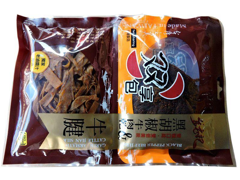 台湾金安记双享包(牛肉&牛健片)