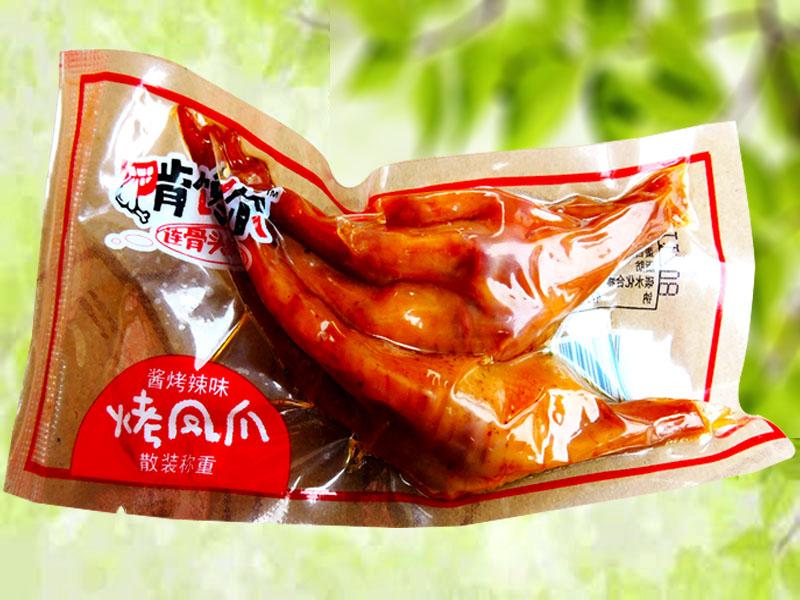 啃馋你凤爪(透明酱烤辣味)