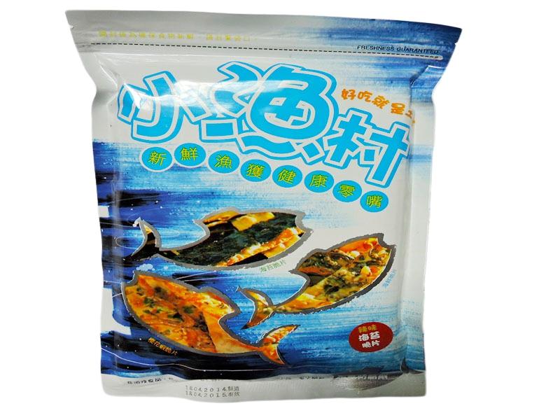 橘点子鲍鱼海苔脆片 48g