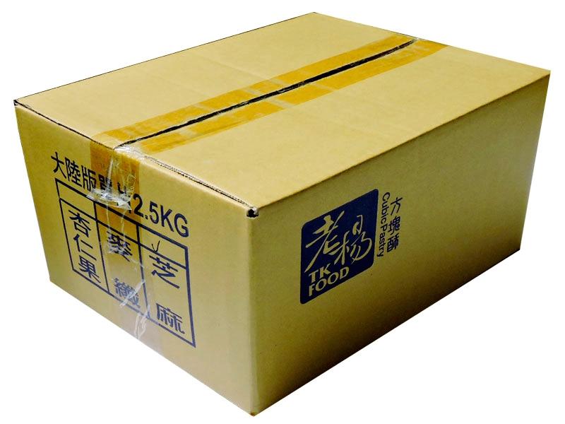 老杨方块酥  芝麻味 外箱