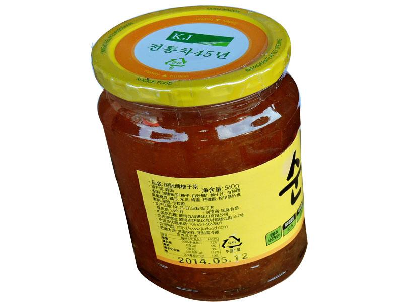 国际牌蜂蜜柚子茶560克