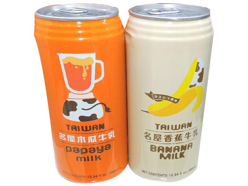 名屋饮料500ML(香蕉牛乳 木瓜牛乳)