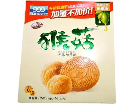 三九猴菇饼干  750g无糖