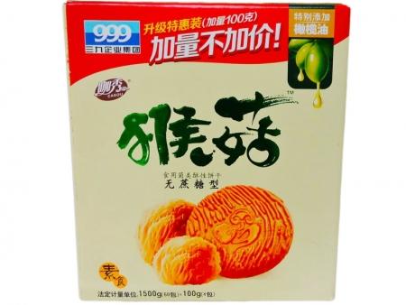 三九猴菇饼干 1500g无糖