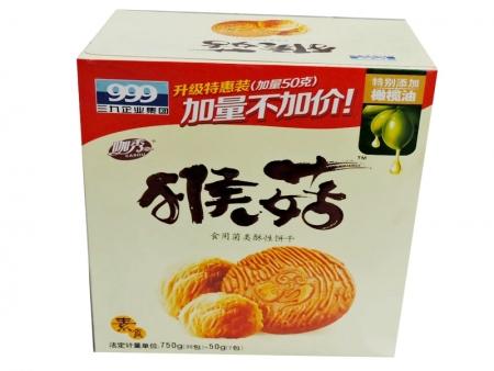 三九猴菇饼干(750g原味)