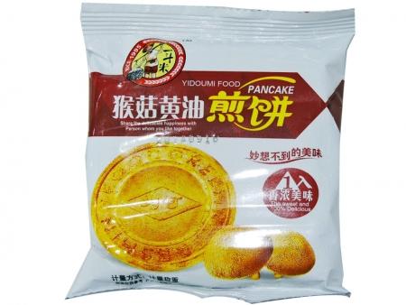 一斗米猴菇黄油煎饼