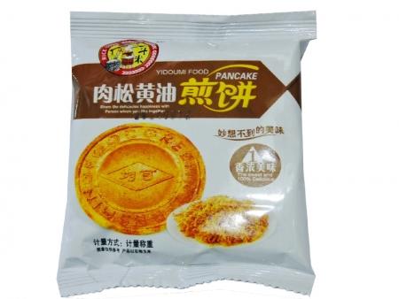 一斗米肉松黄油煎饼