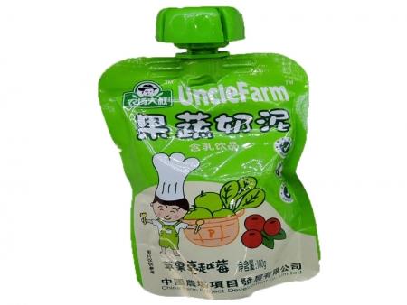 农场大叔果蔬泥100g(苹果蔓越莓)