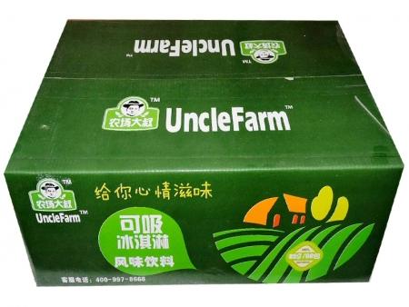 农场大叔可吸冰淇淋  外箱