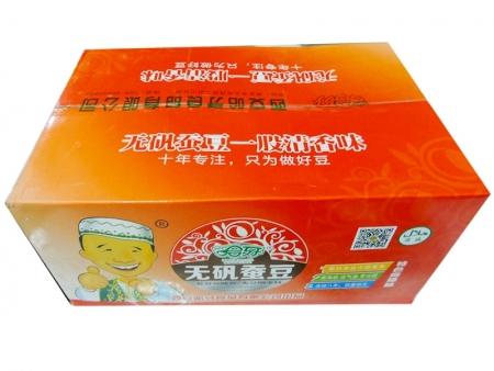 哈牙无矾蚕豆(麻辣味)外箱