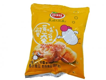 口水娃蚕豆(蟹黄味)