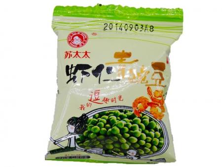 苏太太虾仁青豌豆
