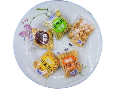 多情豆玉米片(透明牛肉味 透明蟹黄味 海苔味 番茄味)