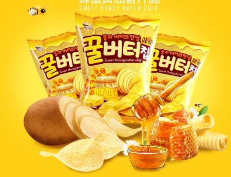 九日牌蜂蜜黄油薯片60g