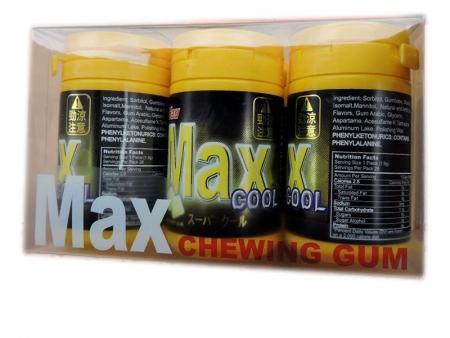 max口香糖(劲凉,清凉,蜂蜜)