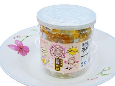 卡米乐梅心糖14g(10支蜂蜜柚子)