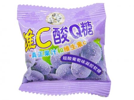 一斗米维C酸Q糖(葡萄味)