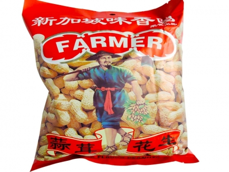 味香园花生(蒜茸)300克