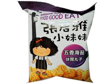 张君雅五香海苔休闲丸子(80克)
