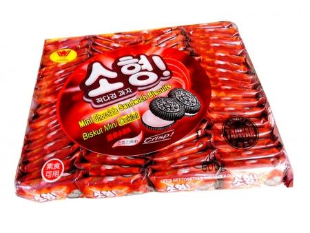 迷你夹心小黑饼600g(巧克力)