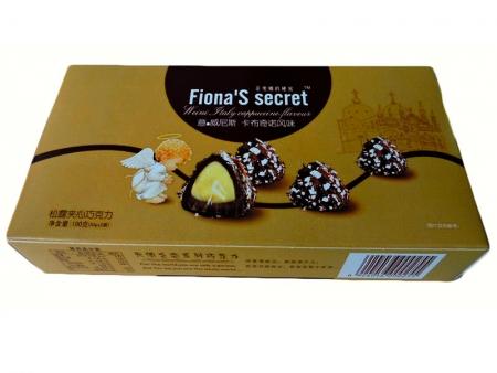 松露夹心巧克力100g(卡布奇诺风味)盒装