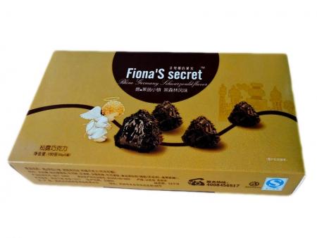 松露巧克力100g(黑森林风味)盒装