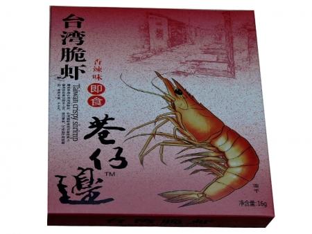 台湾脆虾16g(香辣)
