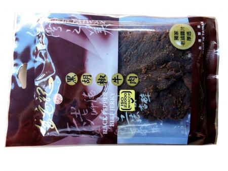 台湾金安记黑胡椒牛肉干90g